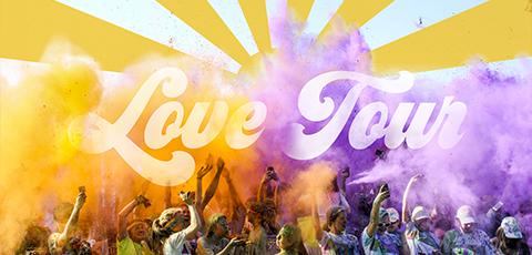 Love Tour Banner Mobile